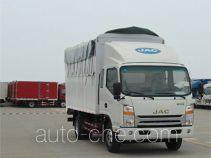 江淮牌HFC5130CPYP71K1D4型蓬式运输车