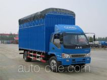 JAC HFC5130CPYP81K3E1 soft top box van truck