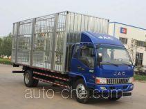 江淮牌HFC5141CCQP91K1D4V型畜禽运输车