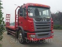 江淮牌HFC5161TPBP3K1A47F型平板运输车