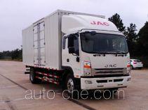 江淮牌HFC5161XXYP70K1D4V型厢式运输车