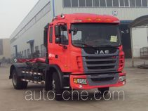 JAC HFC5161ZXXP3N1A45V detachable body garbage truck