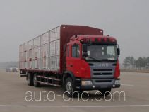 江淮牌HFC5204CCQKR1ZT型畜禽运输车