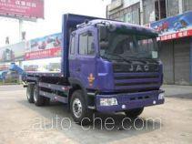江淮牌HFC5240TPBKR1型平板运输车