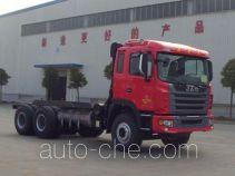 JAC HFC5251GJBP1N5E41S3V concrete mixer truck chassis