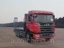 江淮牌HFC5251TPBP1K4E43F型平板运输车