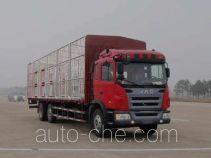 江淮牌HFC5257CCQK1R1T型畜禽运输车