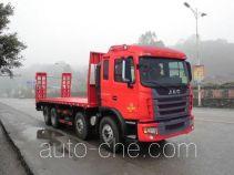 江淮牌HFC5311TPBP2K4H38AF型平板运输车