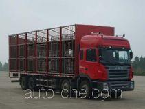 江淮牌HFC5314CCQK1R1LT型畜禽运输车