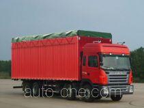 江淮牌HFC5314XXBK1R1LT型蓬式运输车
