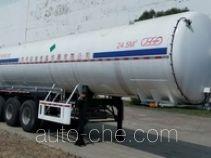 Huafu HFD9401GDY cryogenic liquid tank semi-trailer