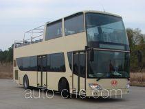 安凯牌HFF6110GS-1型双层观光城市客车