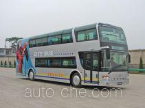 安凯牌HFF6110GS01D型双层城市客车