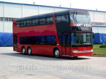 安凯牌HFF6110GS03EV型纯电动双层城市客车