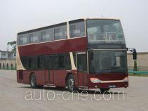 安凯牌HFF6110GS01DE5型双层城市客车
