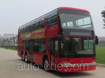 安凯牌HFF6120GS03EV型纯电动双层城市客车