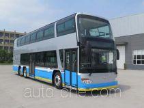 安凯牌HFF6122GS03EV型纯电动双层城市客车