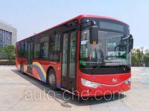 安凯牌HFF6126G03CHEV-1型插电式混合动力城市客车