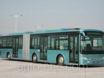 安凯牌HFF6160G02D型铰接城市客车