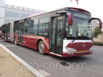 安凯牌HFF6180G02L型铰接城市客车