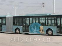 安凯牌HFF6183G02D型铰接城市客车