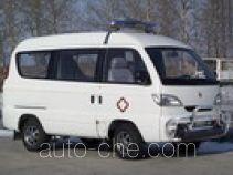 松花江牌HFJ5014XJHE型救护车