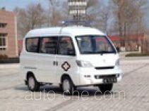 松花江牌HFJ5017XJHE型救护车