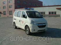 松花江牌HFJ5023XJHAE4型救护车