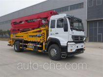 Feigong HFL5200THB concrete pump truck