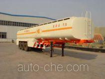 泓锋泰牌HFT9350GYY型运油半挂车