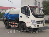 欧曼牌HFV5080GXWBJ5型吸污车