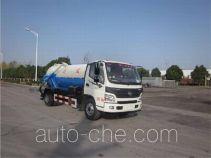 欧曼牌HFV5081GXWBJ5型吸污车