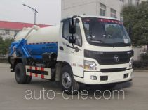 Foton Auman HFV5120GXWBJ5 sewage suction truck