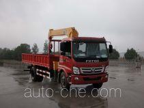 Foton Auman HFV5160JSQBJ4 truck mounted loader crane