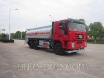 欧曼牌HFV5250GRYCQ4型易燃液体罐式运输车