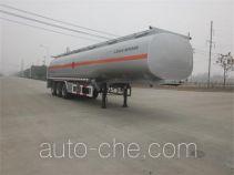 欧曼牌HFV9400GYY型运油半挂车