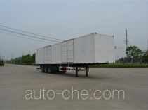 Foton Auman HFV9400XXY box body van trailer