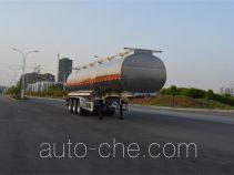 欧曼牌HFV9401GYYA型铝合金运油半挂车