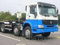 Huguang HG5311ZXX detachable body garbage truck