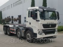Huguang HG5312ZXX detachable body garbage truck