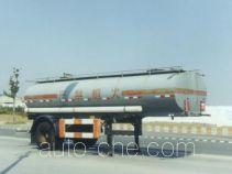 沪光牌HG9130GHY型化工液体运输半挂车