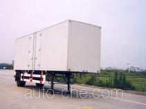 Huguang HG9141XXY box body van trailer