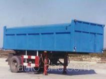 沪光牌HG9142ZLJ型自卸式垃圾半挂车