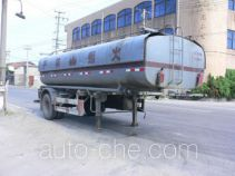 Huguang HG9150GHY chemical liquid tank trailer