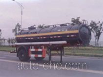 Huguang HG9151GHY chemical liquid tank trailer
