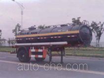 沪光牌HG9151GHY型化工液体运输半挂车