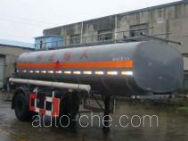 Huguang HG9180GHY chemical liquid tank trailer