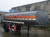 沪光牌HG9180GHY型化工液体运输半挂车