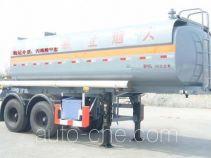 沪光牌HG9210GRY型易燃液体罐式运输半挂车