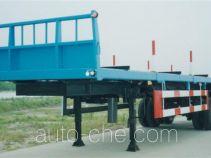 沪光牌HG9211Z型侧卸半挂车